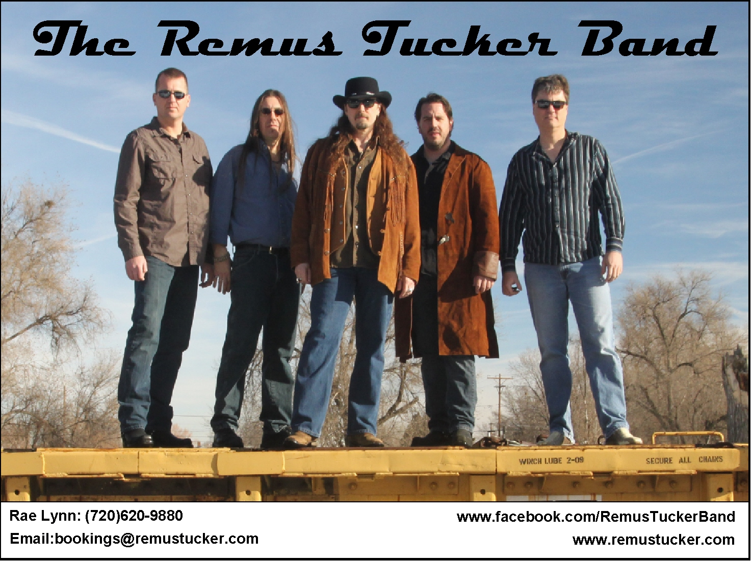 Remus Tucker Promo color shot
