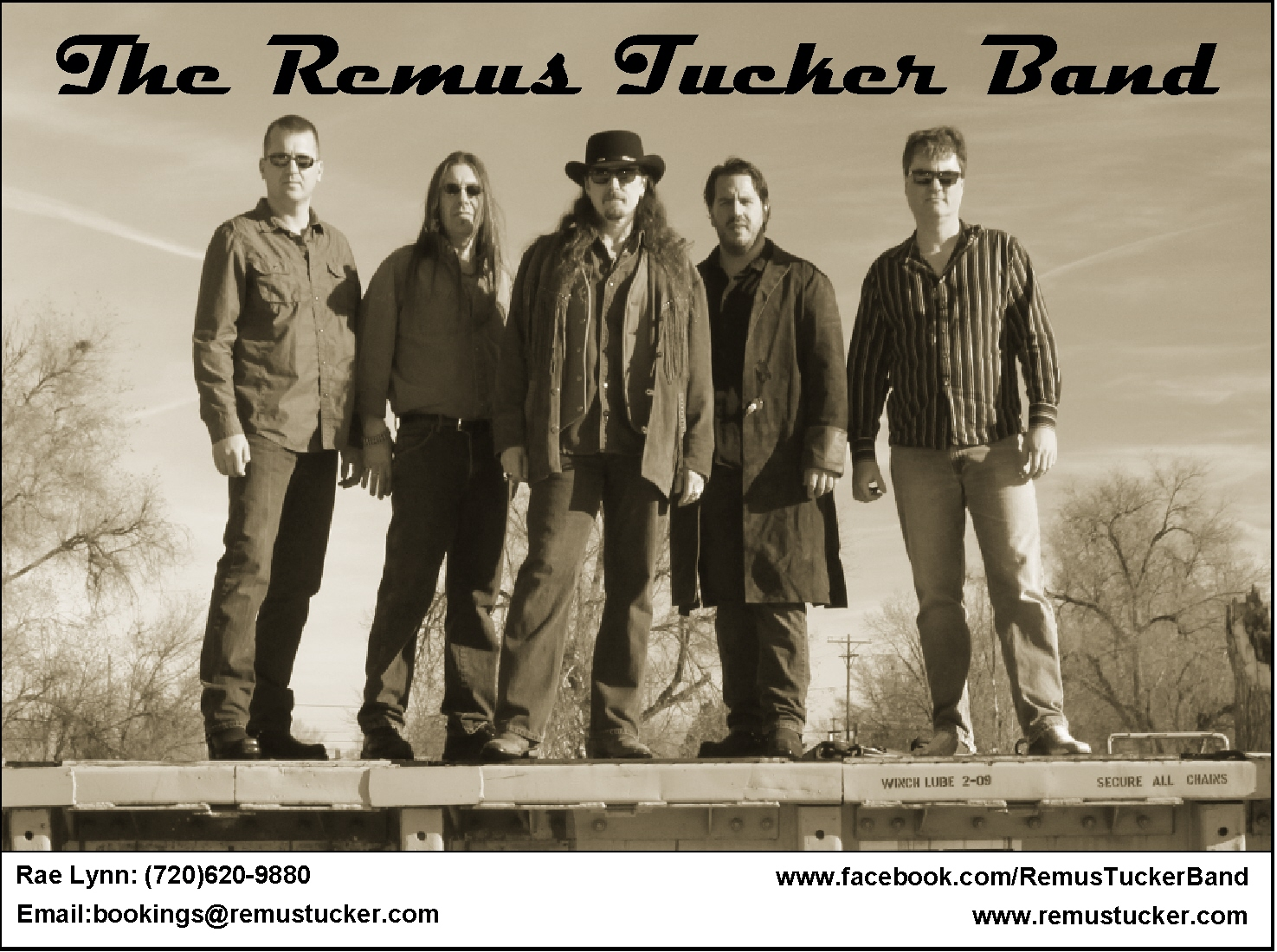 Remus Tucker Promo old shot